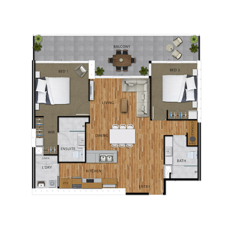 Home page floor plan